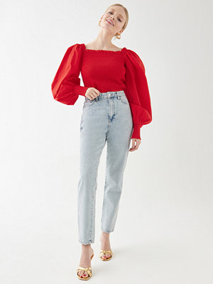 Gina Tricot Estra smock blouse