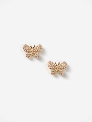 Gina Tricot örhängen Pearl Butterfly Stud Earrings