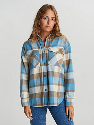 Gina Tricot Joey flannel shirt