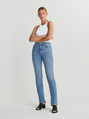 Gina Tricot Slit hem jeans