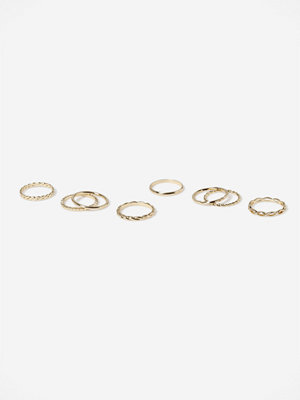 Gina Tricot GOLD CHAIN LINK RING