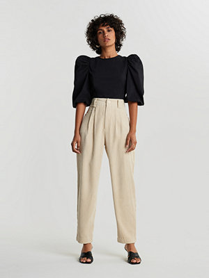 Gina Tricot omönstrade byxor Ebba corduroy trousers