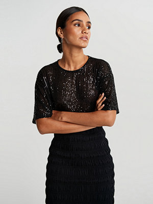 Gina Tricot Rudy sequins top
