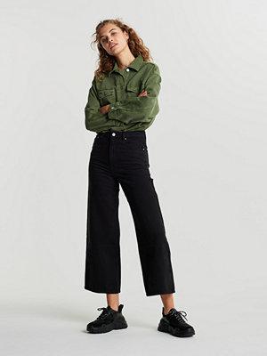 Gina Tricot Idun crop wide jeans