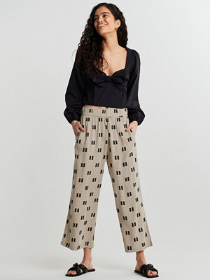 Gina Tricot byxor med tryck Disa culotte trousers