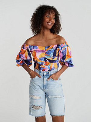 Gina Tricot Boel rouched blouse
