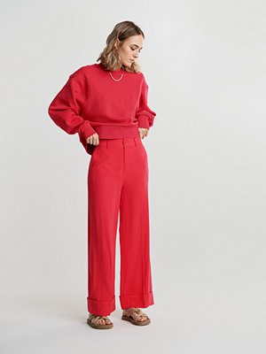 Gina Tricot röda byxor Kirsten trousers