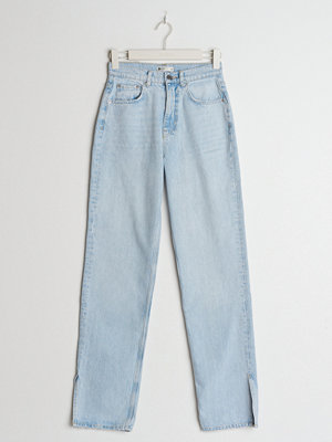 Gina Tricot 90s tall slit jeans