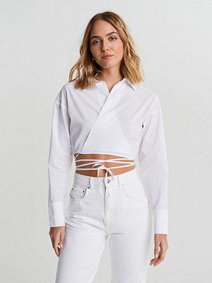 Gina Tricot Tuva wrap shirt