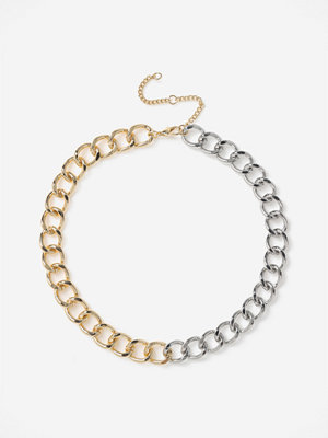 Gina Tricot halsband MIXED METAL CURB CHAIN NW