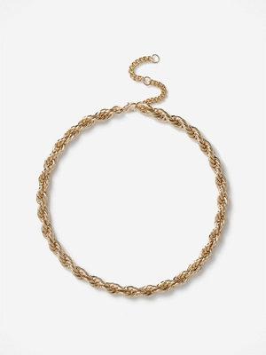 Gina Tricot halsband Gold Twist Chain