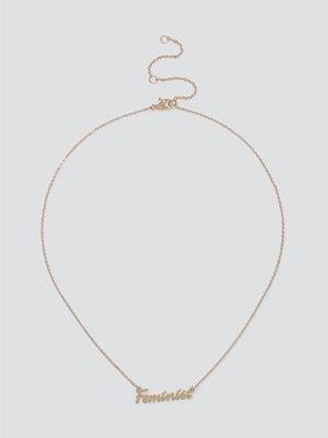 Gina Tricot örhängen Feminist Chain Necklace