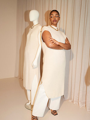Gina Tricot Heyley knitted dress