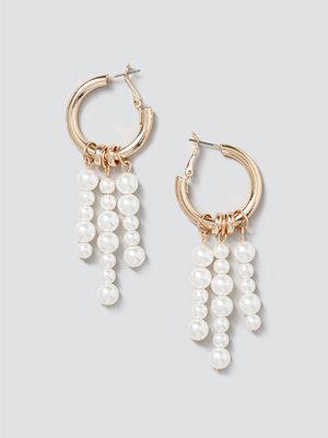 Gina Tricot smycke Mega Pearl Drop Hoops