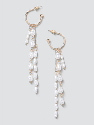 Gina Tricot smycke Layered Pearl Drop Earrings