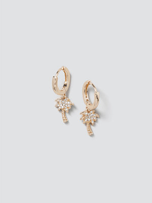 Gina Tricot smycke Finer Palm Tree Drop Hoops