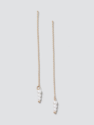Gina Tricot smycke Finer Pearl Thread  Earrings