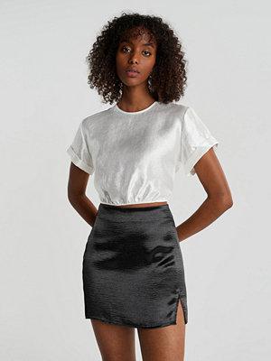 Gina Tricot Minky mini skirt