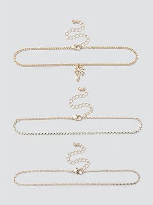 Gina Tricot smycke Gold Palm Tree Choker