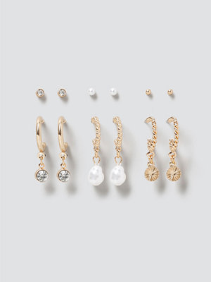 Gina Tricot smycke Crystal & Pearl Earring Pack