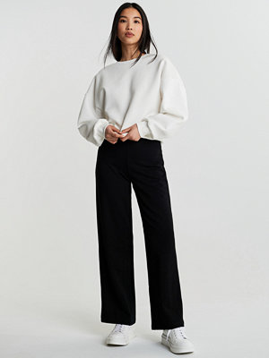 Gina Tricot svarta byxor Laura high waist trousers