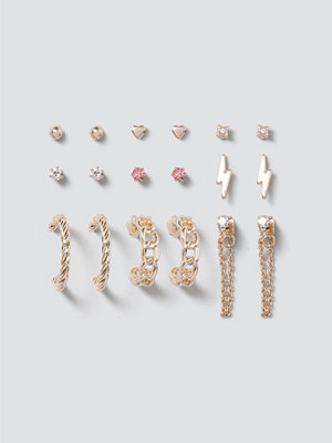 Gina Tricot smycke Chain & Lightening Earring Pack