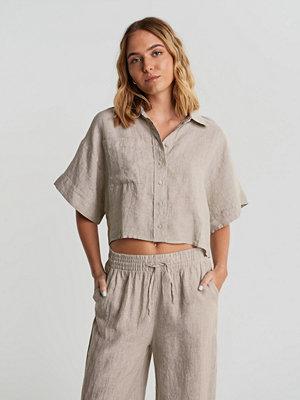Gina Tricot Wellie linen shirt