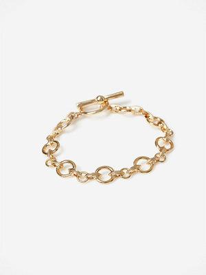 Gina Tricot armband Rounded Link Bracelet