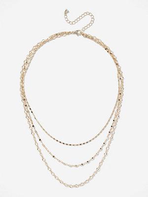 Gina Tricot halsband Layered Chain Necklace