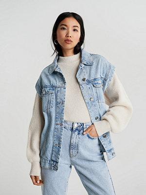 Jeansjackor - Gina Tricot 90s sleeveless denim jacket