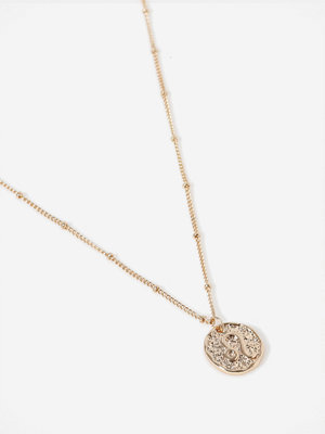 Gina Tricot halsband Gold Leo Ditsy Necklace