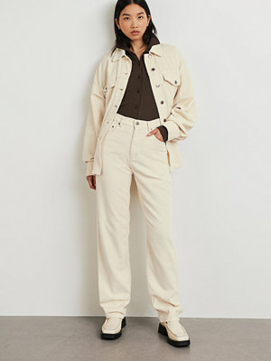 Gina Tricot omönstrade byxor 90s Cord trousers