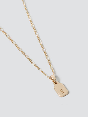 Gina Tricot smycke Gold E Initial Ditsy