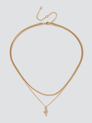 Gina Tricot halsband Finer Snake Layered Necklace