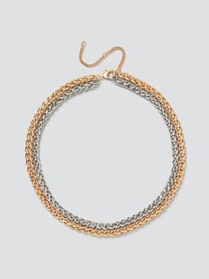 Gina Tricot smycke Mixed Metal Chunky Chain Pack