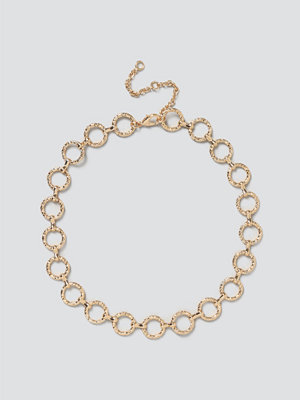 Gina Tricot smycke Gold O Link Chain Necklace