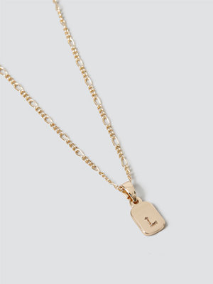 Gina Tricot smycke Gold L Initial Ditsy