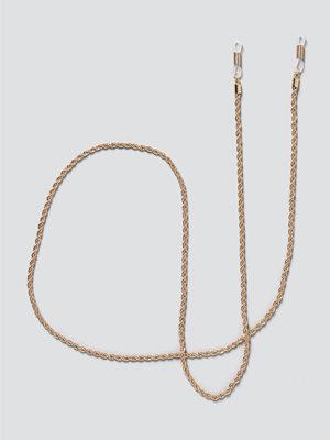 Gina Tricot smycke Gold Twist Sunglasses Chain