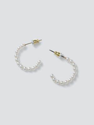 Gina Tricot örhängen Mini Pearl Hoops