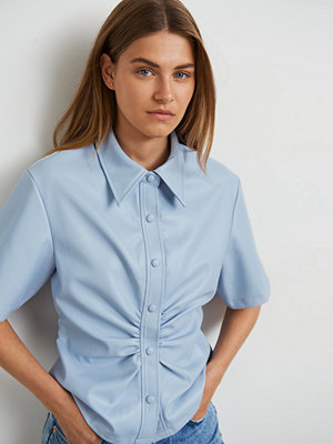 Gina Tricot Fiona pu shirt