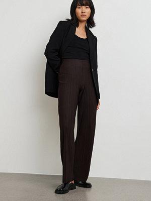 Gina Tricot svarta byxor Sissi trousers