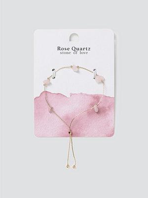 Gina Tricot smycke Rose Quartz Healing Bracelet
