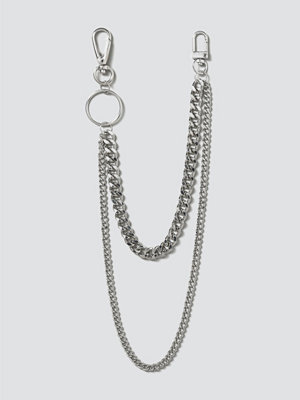Gina Tricot smycke Silver Curb Wallet Chain