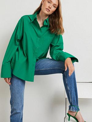 Gina Tricot Gizem oversized poplin shirt