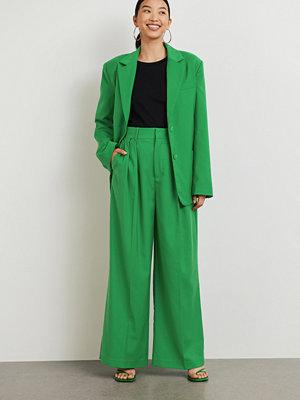 Gina Tricot gröna byxor Olivia trousers