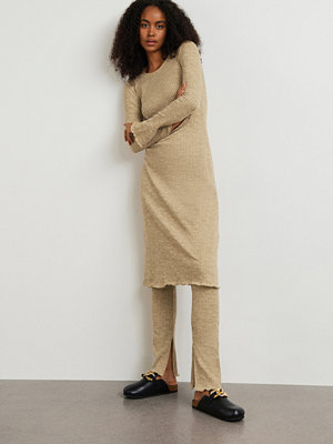 Gina Tricot Signe rib dress