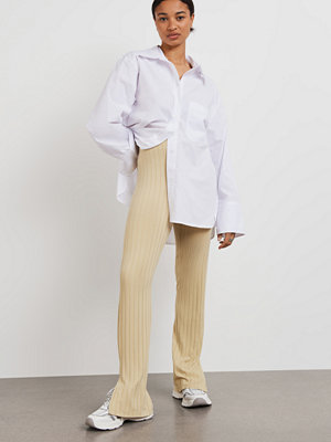 Gina Tricot byxor Ida rib trousers