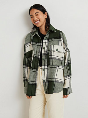Gina Tricot Rory flannel shirt