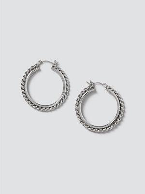 Gina Tricot örhängen Chain Detail Hoops