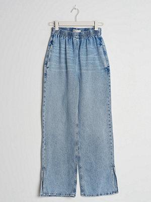 Gina Tricot Jogger petite slit jeans